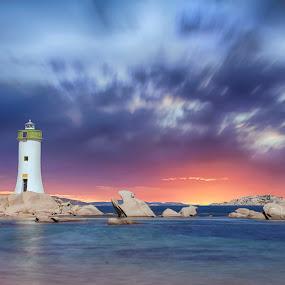Porto Faro by Maurizio Mameli - Landscapes Cloud Formations ( clouds, sky, sardinia, color, colors, sea, cloud, beach, seascape, landscape, sardiniacolors, light )