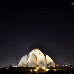 Lotus Temple, New Delhi India by Siddhartha Chitranshi - Buildings & Architecture Places of Worship ( landmark, travel )