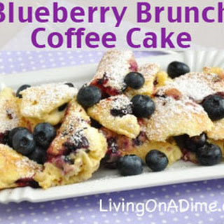 Blueberry Brunch Coffee Cake