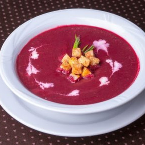 0% of the calories! Beet soup