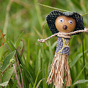 Farmer by Asirah Abrah - Artistic Objects Other Objects ( creation, creative, toy, fresh, grass, green, art, artistic, object, create )