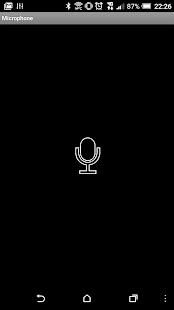 Mikrofon – Miniaturansicht des Screenshots