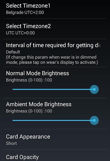 F08 3TimeZoneFace for Moto 360 - screenshot