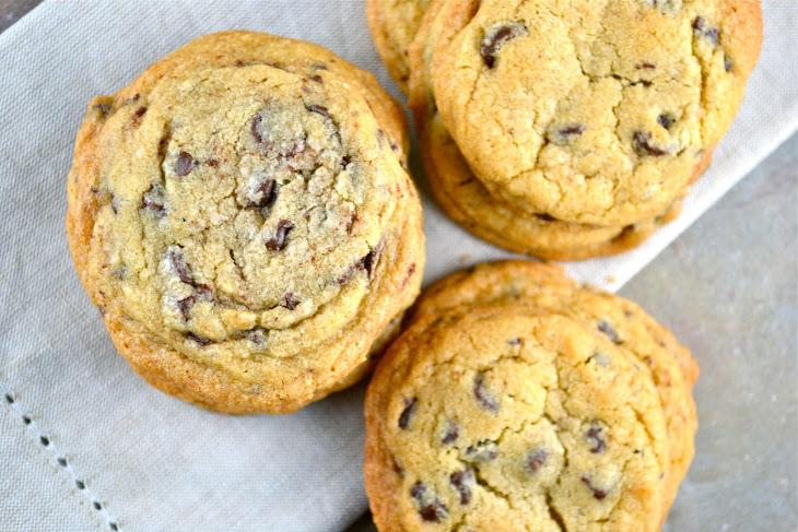 chocolate chip oatmeal cookies crispy chewy chocolate chip cookies