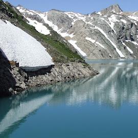 by Serguei Ouklonski - Landscapes Mountains & Hills ( water, mountain, ticino, cevio, snowy )
