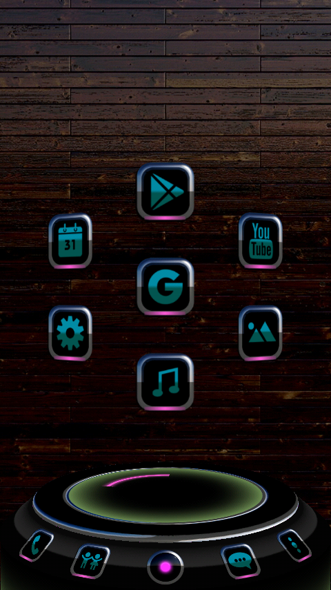 CALAIDEON Next Launcher Theme Screenshot 2