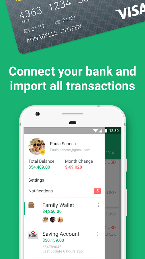 Spendee - Budget & Money Tracker with Bank Sync Screenshot