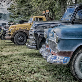Old Skool Cool by Scott Bryan - Transportation Automobiles ( car, classic car, truck, neat, automobile, landscape, vintage. )