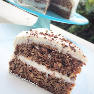 Healthiest Carrot Cake with Cream Cheese Frosting