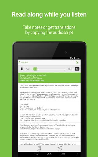 LearnEnglish Podcasts - Free English listening screenshot 8