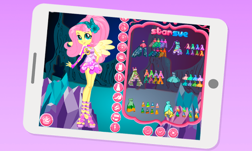 Dress up Fluttershy For PC
