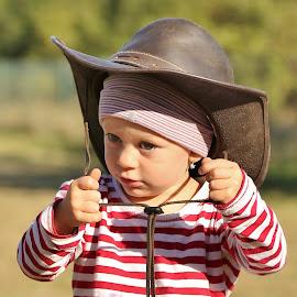 little cowboy by Pavel Vysoglad - Babies & Children Babies