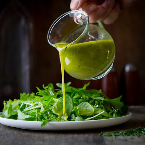Chive Oil Salad Dressing
