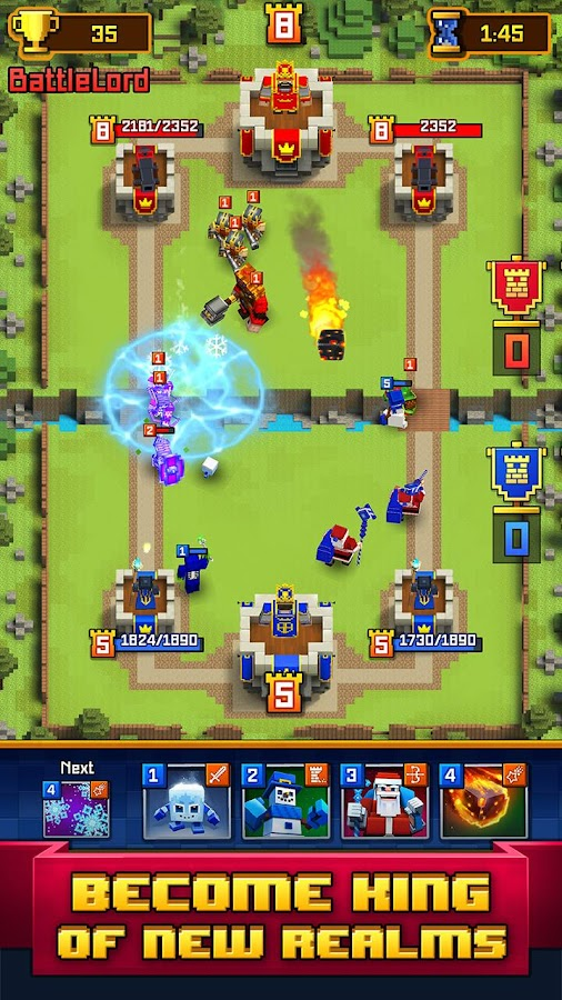 Craft Royale - Clash of Pixels Screenshot 1