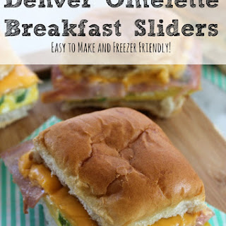 Denver Omelette Breakfast Sliders | Easy to Make and Freezer Friendly!