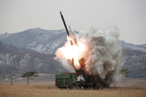 Seoul test-fires missile that can hit any part of North