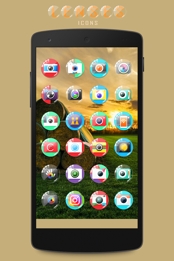 Lenses Icon Pack Screenshot 6