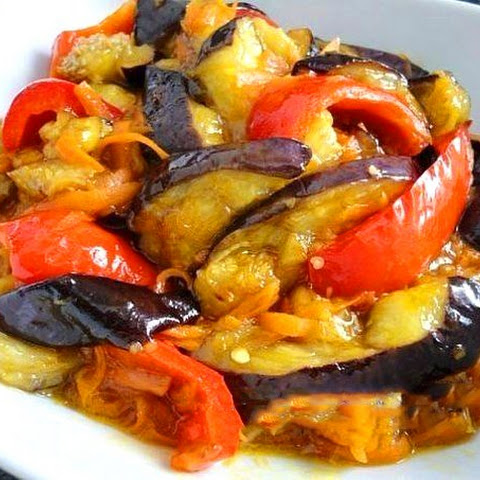 Eggplants In Sweet And Sour Sauce
