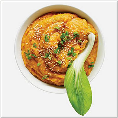 Roasted Sweet Potatoes with Miso, Orange, and Sesame Rezept | Yummly
