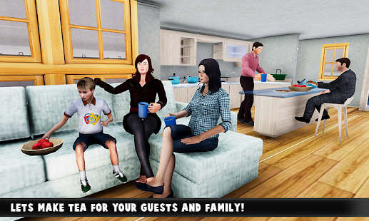 Virtual Family Adventure: Dad & Mom Fun Time