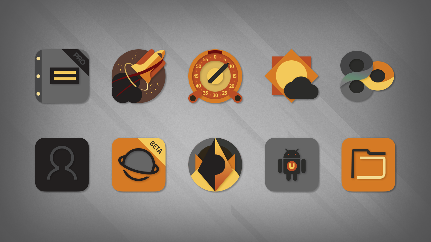 Desaturate - Free Icon Pack Screenshot 5