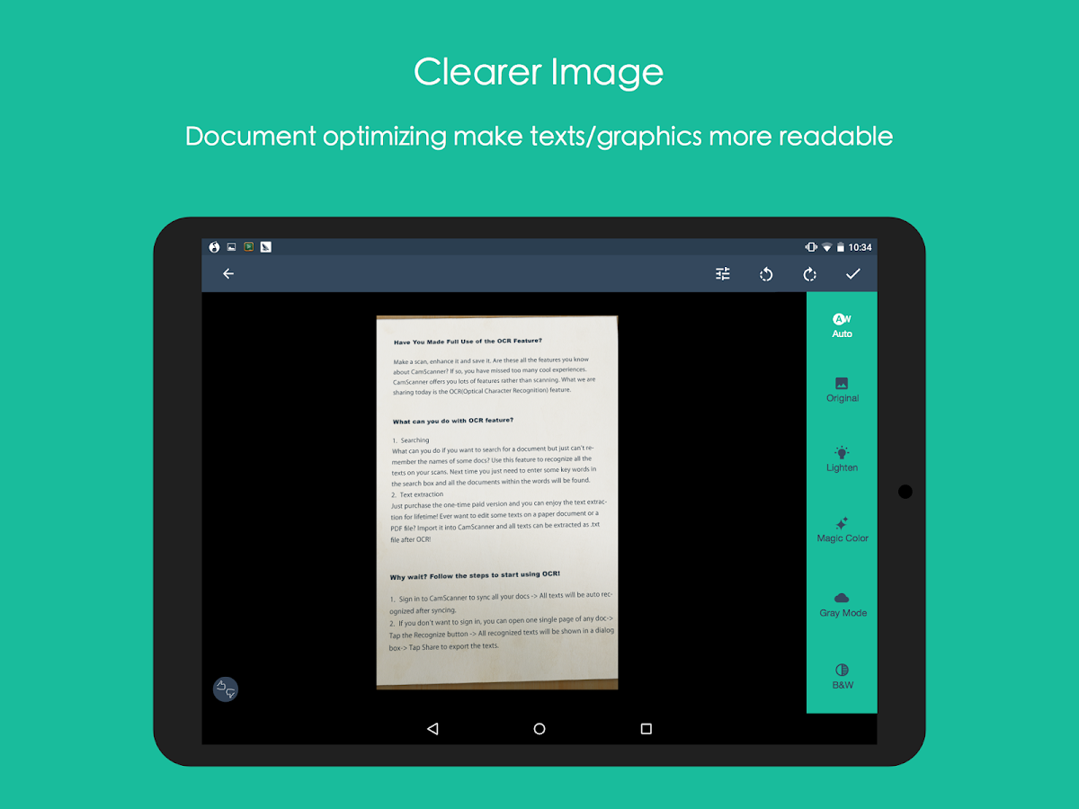 CamScanner -Phone PDF Creator Screenshot 10