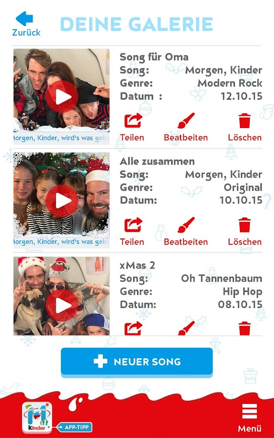 kinder Karaoke – Xmas Edition Screenshot 9