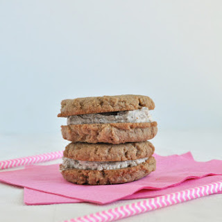 Flourless Chai Sandwich Cookies
