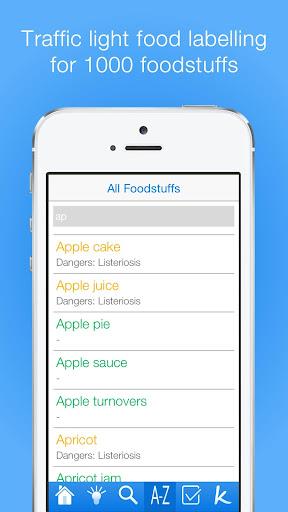 Pregnancy Food Guide PRO - screenshot
