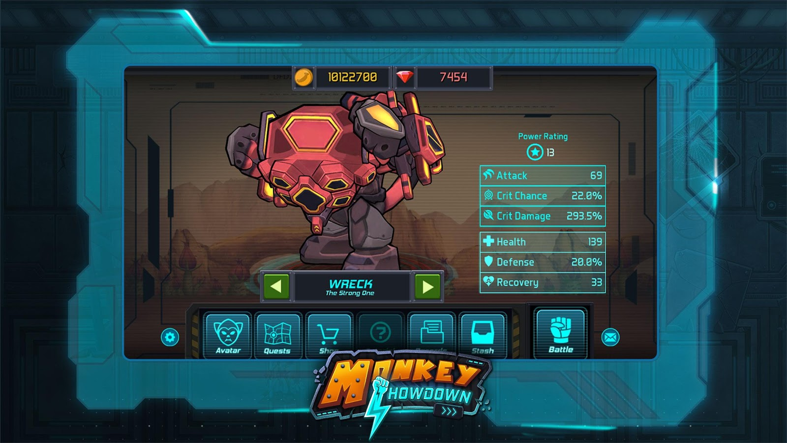 Monkey Showdown Screenshot 2