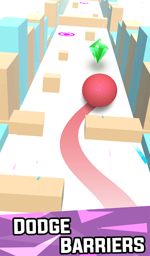 Dancing Ball – Roll in the Sky and Catch it up screenshot 1