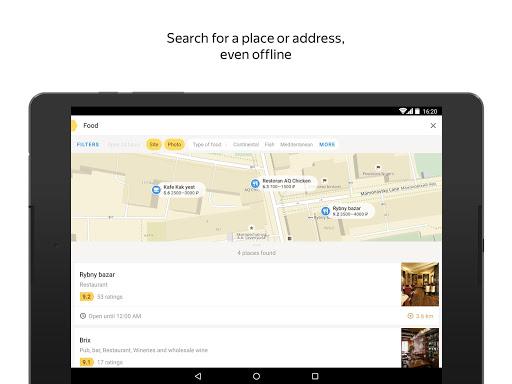 Yandex.Maps screenshot 9