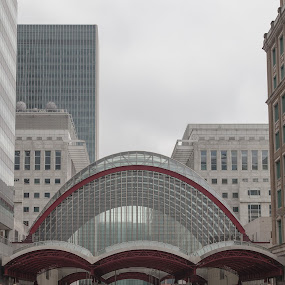 Canary Wharf by Lieven Lema - Buildings & Architecture Architectural Detail ( london, tube, canary wharf, 2012, canon eos 5d mkii )