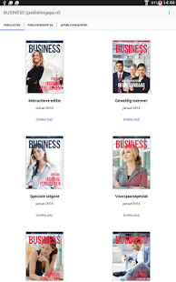 BUSINESS (publishingapp.nl) - screenshot