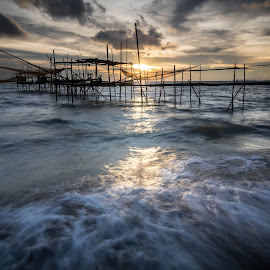 Sunset  by Tee Chee Cheong - Buildings & Architecture Bridges & Suspended Structures