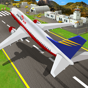Airplane Pilot Flight Race Simulator New App on Andriod - Use on PC