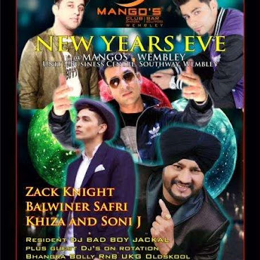New Years Eve - 31st Dec 2015