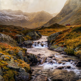 Autumn in mountains. by John Aavitsland - Landscapes Mountains & Hills