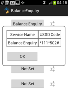Balance Enquiry USSD Codes - screenshot