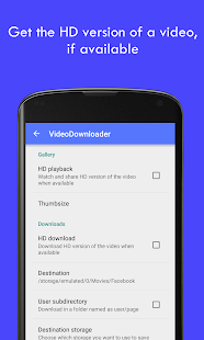 MyVideoDownloader for Facebook- screenshot thumbnail