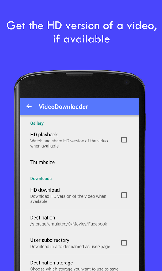 MyVideoDownloader for Facebook Screenshot 3