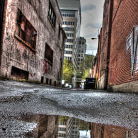 by Étienne Provost - City,  Street & Park  Street Scenes