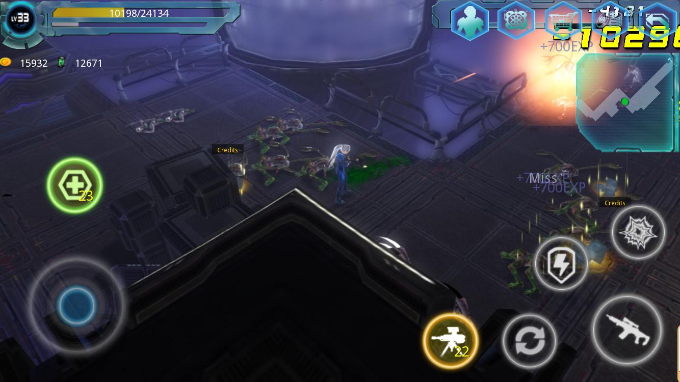 Alien Zone Raid Screenshot 2