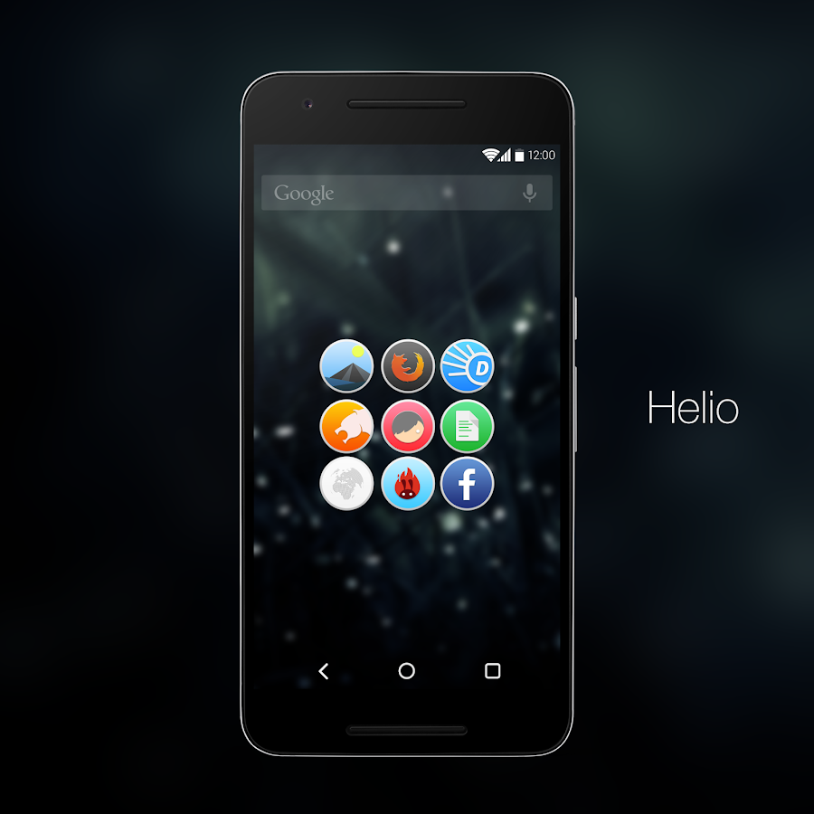 Helio UI (Donate) Icon Pack Screenshot 0
