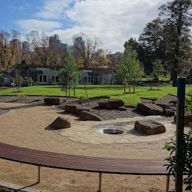 FRG by Glen John Terry  - City,  Street & Park  City Parks ( glenjohnterry, storm clouds,  )