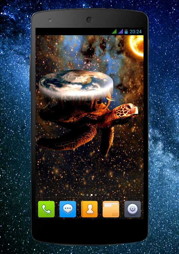 World Turtle Pro LWP Screenshot 1