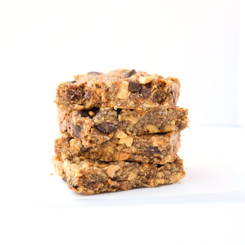 Chocolate Peanut Breakfast Protein Bars