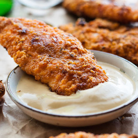 "KFC Oven Baked ""Fried"" Chicken Tenders"