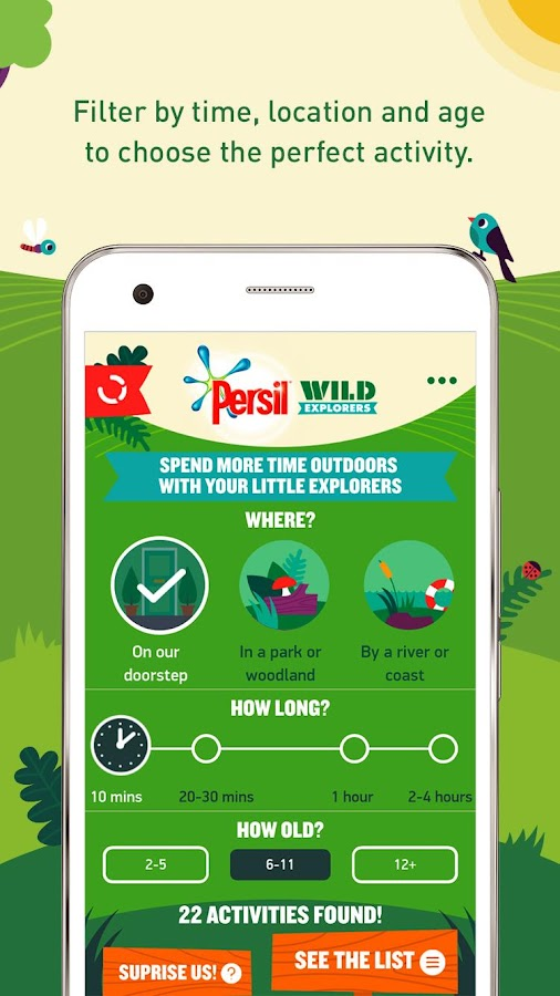 Persil Wild Explorers Screenshot 1