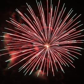 Fireworks by Paramasivam Tharumalingam - Abstract Fire & Fireworks
